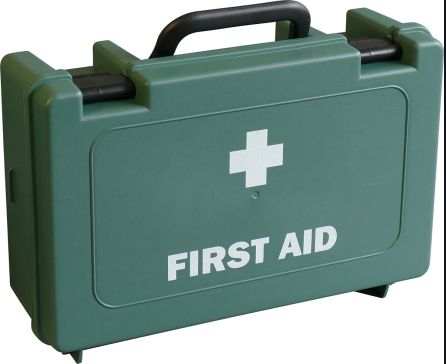 The First Aid Kit is lightweight and properly sized