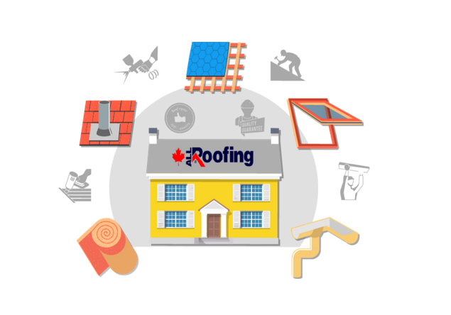 Large companies guarantee that you will have excellent Toronto roofing with quality materials
