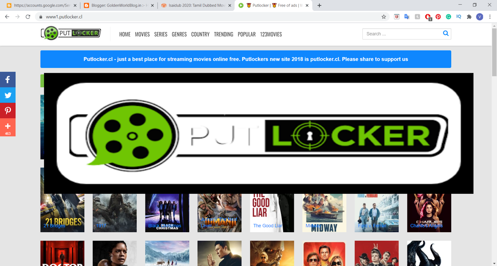 In the sights the various putlocker alternatives giving something to talk about
