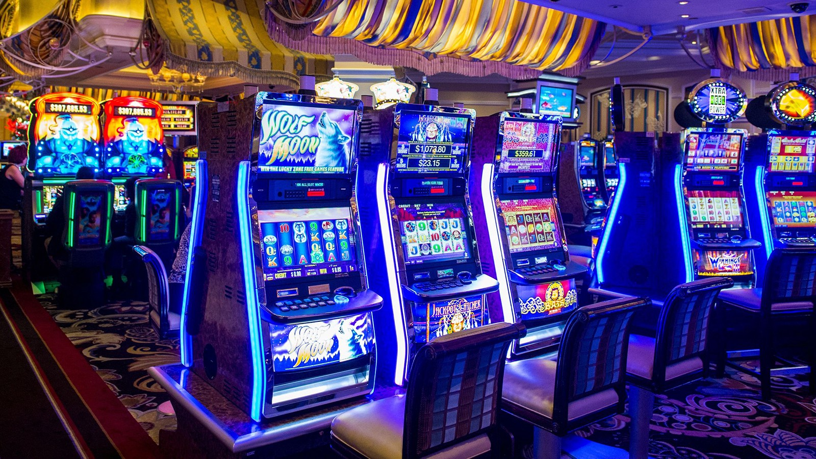 Value of Selecting On-line Slots