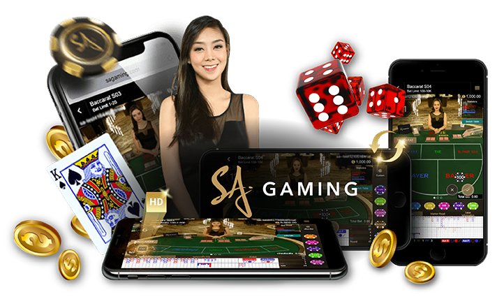 Assured opportunity to acquire SA Gaming of slot machines, baccarat and a lot more.